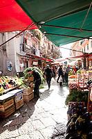 Il Capo Markets, Palermo, Sicily