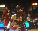 Ole Miss center Demarco Cox (42)  at the C.M. &quot;Tad&quot; Smith Coliseum in Oxford, Miss. on Saturday, January 15, 2011. Georgia won 98-76.  (AP Photo/Oxford Eagle, Bruce Newman)