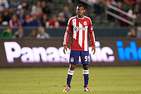 CD Chiavs USA rookie forward Victor Estupinan (99). The Colorado Rapids defeated CD Chivas USA 1-0 at Home Depot Center stadium in Carson, California on Saturday March 26, 2011...