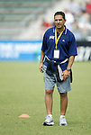 24 May 2003: Spirit head coach Omid Namazi. The San Diego Spirit defeated the Carolina Courage 2-1 at SAS Stadium in Cary, NC in a regular season WUSA game.