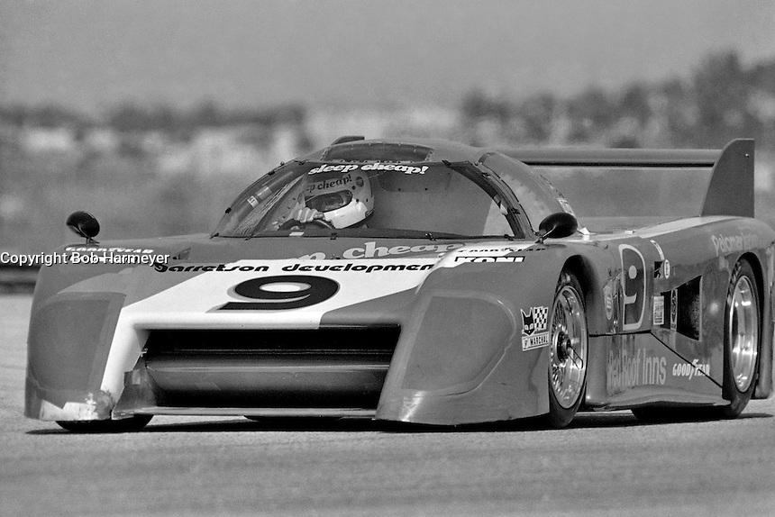 DAYTONA BEACH, FL - JANUARY 31: Bobby Rahal drives the March 82G 1/Chevrolet in the 24 Hours of Daytona on January 31, 1982, at Daytona International Speedway in Daytona Beach, Florida.