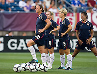 Abby Wambach. The USWNT defeated Sweden, 3-0.