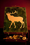 Painting of elk