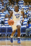 30 October 2012: Duke's Chelsea Gray. The Duke University Blue Devils played the Shaw University Lady Bears at Cameron Indoor Stadium in Durham, North Carolina in women's college basketball exhibition game. Duke won the game 138-32.