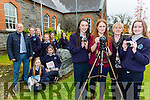 The Castleisland Presentation students who are participating in the Different Lens course front row l-r: Laura Butler, Katie O'Reilly, Noreen O'Shea, Laura O'Shea. Back kneeling Shauna Curtin, Grace Daly, Ava Flaherty, Grainne O'Connor. Back Siobhain Brosnan, Ellen Dennehy and Alison Ward