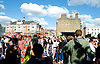 Stock images of Brixton Splash from 2014 <br /> <br /> Brixton Splash <br /> Around the streets of Brixton <br /> 3rd August 2014 <br /> <br /> Brixton&rsquo;s popular free summer street festival, Brixton Splash <br /> <br /> Atlantic Road, Pope Road, Coldharbour Lane, Effra Road, Electric Avenue, Electric Lane, Rushcroft Road, Saltoun Road, St Matthew&rsquo;s Peace Gardens and Windrush Square with an afternoon of music, food, drink and celebrations.<br /> <br /> <br /> <br /> Photograph by Elliott Franks <br /> Image licensed to Elliott Franks Photography Services