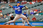 13 September 2008: Kansas City Royals' starting pitcher Zack Greinke on the mound against the Cleveland Indians at Progressive Field in Cleveland, Ohio. The Royals defeated the Indians 8-3 in the first game of their rain delayed double-header...Mandatory Photo Credit: Ed Wolfstein Photo