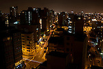 A nighttime view on Friday, Apr. 10, 2009 in Lima, Peru.