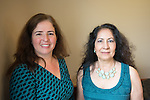 Left: Marlene De La Cruz-Guzman, Director Office of Multicultural Student Access and Retention (OMSAR)<br />  <br /> Right: Alicia Chavira-Prado, Special Assistant to the Vice Provost for Diversity and Inclusion