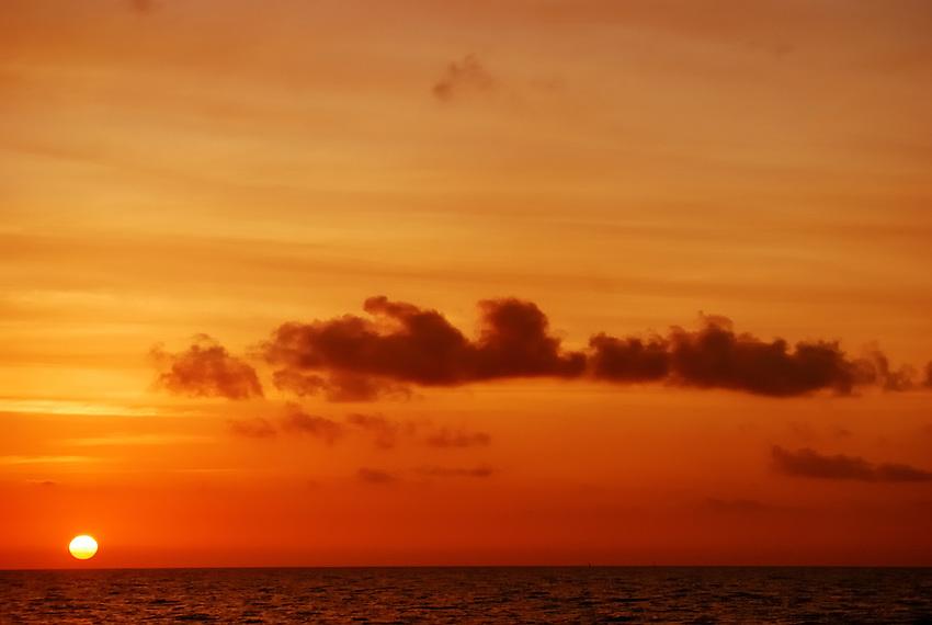 Sunrise at White Street Pier, Key West, FL