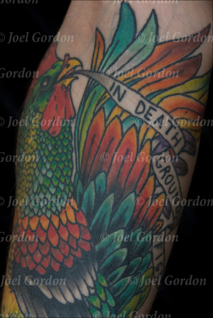 Fighting Rooster Tattoo Pictures to Pin on Pinterest