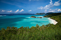Trunk Bay with a north swell<br />