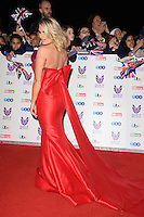 LONDON, UK. October 31, 2016: Danielle Armstrong at the Pride of Britain Awards 2016 at the Grosvenor House Hotel, London.<br /> Picture: Steve Vas/Featureflash/SilverHub 0208 004 5359/ 07711 972644 Editors@silverhubmedia.com