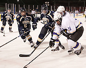 Samuel Johnson (Trinity - 5), Elie Vered (Trinity - 18), Craig Kitto (Williams - 11) - The Williams College Ephs defeated the Trinity College Bantams 4-2 (EN) on Tuesday, January 7, 2014, at Fenway Park in Boston, Massachusetts.