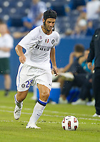August 03 2010 Inter Milan FC defender Christian Chivu No.26 in action during an international friendly between Inter Milan FC and Panathinaikos FC at the Rogers Centre in Toronto..Final score was 3-2 for Panathinaikos FC.