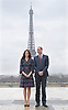 No UK Use For 28 Days - Until 14th April 2017<br /> 18.03.2017; Paris, FRANCE: DUKE &amp; DUCHESS OF CAMBRIDGE <br /> pose in front of the Eiffel Tower at the Trocadero in Paris, France, after attending a &ldquo;Les Voisins in Action&rdquo; event highlighting the ties between the young people of France and the UK.<br /> The location was just a kilometre away from the Pont D'Alma tunnel, where Prince William's mother Princess Diana was killed in a car crash in August 1997.<br /> Mandatory Photo Credit: &copy;Francis Dias/NEWSPIX INTERNATIONAL<br /> <br /> IMMEDIATE CONFIRMATION OF USAGE REQUIRED:<br /> Newspix International, 31 Chinnery Hill, Bishop's Stortford, ENGLAND CM23 3PS<br /> Tel:+441279 324672  ; Fax: +441279656877<br /> Mobile:  07775681153<br /> e-mail: info@newspixinternational.co.uk<br /> Usage Implies Acceptance of OUr Terms &amp; Conditions<br /> Please refer to usage terms. All Fees Payable To Newspix International