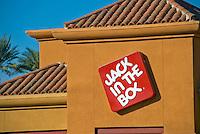 Jack in the Box, Building, Sign, Vignette, Architectural, Commercial, Building, Exterior, Vignette, colorful, design, architecture,