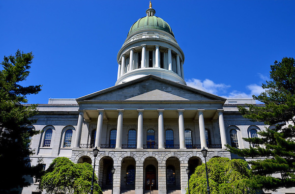 Maine State House Building In Augusta Maine Encircle Photos