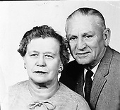 Ann Arbor, MI - FILE --  Portrait of Mr. and Mrs. Gerald R. Ford, Sr. Date: Undated (1950s)<br /> Credit: Courtesy Gerald R. Ford Library via CNP