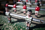 Table football, Faro, Algarve, Portugal