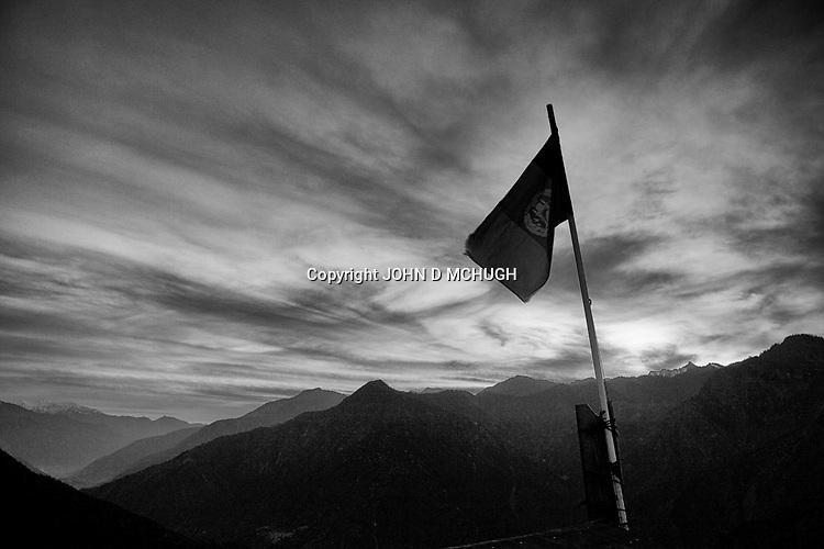 A general view of Observation Post Mace, near Gowerdesh in northern Kunar, 22 November 2011. (John D McHugh)