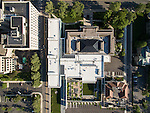 Columbus Museum of Art Margaret M Walter Wing Aerial Photography   DesignGroup