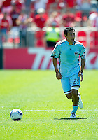 10 July 2010: Colorado Rapids defender/midfielder Pablo Mastroeni #25 in action during a game between the Colorado Rapids and Toronto FC at BMO Field in Toronto..Toronto FC won 1-0.