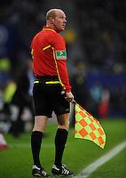 FUSSBALL   1. BUNDESLIGA   SAISON 2011/2012   18. SPIELTAG Hamburger SV - Borussia Dortmund     22.01.2012 Linienrichter Jan-Hendrik Salver