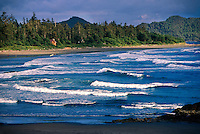 Chesterman Beach, near Tofino, Vancouver Island, British Columbia, Canada