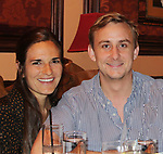 Kim's son Max Weary and his fiance Rebecca at the Barn Theatre - A Celebration at Feinsteins/54 Below, New York City, New York on April 28. 2017. Barn Theatre is located in Augusta, Michigan.  (Photo by Sue Coflin/Max Photos)