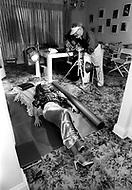 June 1978. Los Angeles, California, USA. Sheila and photographer George Hurrel.