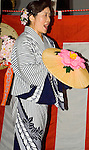 Japanese Traditnl Dancer