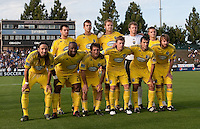 Columbus Crew Starting Eleven. The San Jose Earthquakes tied the Columbus Crew 2-2 at Buck Shaw Stadium in Santa Clara, California on June 2nd, 2010.