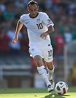 PASADENA, CA – June 25, 2011: USA player Landon Donovan (10) during the Gold Cup Final match between USA and Mexico at the Rose Bowl in Pasadena, California. Final score USA 2 and Mexico 4.