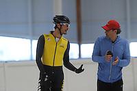 SCHAATSEN: LEEUWARDEN: 24-06-2016, Elfstedenhal, training zomerijs, ©foto Martin de Jong