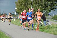 ATLETIEK: SNEEK: 30-08-2014, Sneek-Bolsward-Sneek, Winnaar Jan Venhuizen (700), ©foto Martin de Jong
