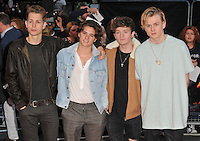 The Vamps at the &quot;Deepwater Horizon&quot; European film premiere, The Empire cinema, Leicester Square, London, England, UK, on Monday 26 September 2016.<br /> CAP/CAN<br /> &copy;CAN/Capital Pictures /MediaPunch ***NORTH AND SOUTH AMERICAS ONLY***