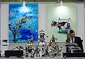 November 9th, 2011 : Tokyo, Japan &ndash; Robot artworks by CRAFT FACTORY SHOVEL HEAD are displayed during International Robot Exhibition 2011. This show is held to showcase new robots and high technology equipments at the Tokyo International Exhibit Center. International Robot Exhibition 2011 runs from November 9 &ndash; 12. (Photo by Yumeto Yamazaki/AFLO)