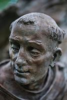 Sculpture detail of Christian Saint.