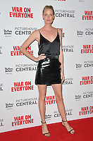 Caroline Winberg at the &quot;War On Everyone&quot; UK film premiere, Picturehouse Central, Corner of Shaftesbury Avenue and Great Windmill Street, London, England, UK, on Thursday 29 September 2016.<br /> CAP/CAN<br /> &copy;CAN/Capital Pictures /MediaPunch ***NORTH AND SOUTH AMERICAS ONLY***