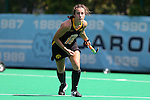 30 August 2014: Iowa's Jessy Silfer. The Wake Forest University Demon Deacons played the University of Iowa Hawkeyes at Francis E. Henry Stadium in Chapel Hill, North Carolina as part of the ACC/Big 10 Challenge and an 2014 NCAA Division I Field Hockey match. Iowa won the game 4-1.