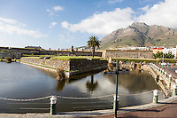 South Africa, Cape Town.  Castle of Good Hope, built 1666-1679.