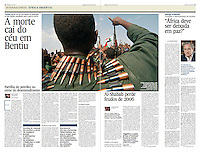 Tearsheet of &quot;Sudan and South Sudan War&quot; (feature story) published in Expresso
