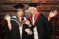 NO REPRO FEE. 25/11/2011. Independent College Dublin graduations. Pictured after graduating from Independent College Dublin are L-R Kerri Ann Warren from Malahide MA Dispute Resolution and Claire Graydon LLB . For more info please contact Annie Leger annie.leger@independentcolleges.ieT: +353 1 635 5811Picture James Horan/Collins