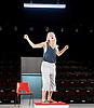 People, Places and Things <br /> by Duncan Macmillan <br /> directed by Jeremy Herrin <br /> at the Dorfman Theatre, NT, Southbank, London, Great Britain <br /> press photocall <br /> 28th August 2015 <br /> <br /> Denise Gough <br /> as Emma <br /> <br /> <br /> Photograph by Elliott Franks <br /> Image licensed to Elliott Franks Photography Services