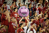 Stanford, Ca - October 8, 2016: Fans during the Stanford vs. Washington State game Saturday night at Stanford Stadium. <br /> <br /> Washington State won 42-16.