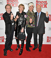 Lord Andrew Lloyd Webber, Madeleine Gurdon, Emma Joy Kitchener and Julian Fellowes at the &quot;School of Rock: The Musical&quot; VIP opening night, New London Theatre, Drury Lanes, London, England, UK, on Monday 14 November 2016. <br /> CAP/CAN<br /> &copy;CAN/Capital Pictures /MediaPunch ***NORTH AND SOUTH AMERICAS ONLY***