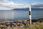 Isle of Arran from Kintyre in Scotland