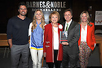 "Joshua Morrow, Lauralee Bell,Lee Phillip Bell, Michael Maloney and Maria Arena Bell  attends the book signing of "" The Young & Restless LIfe of William J Bell"" by Michael Maloney and Lee Phillip Bell  on June 21, 2012 at The Barnes & Nobles in The Grove in Los Angeles."