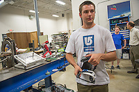 20130625 CEMS Student Logan Williams Interns at Burton Snowboard Company in Burlington, VT.
